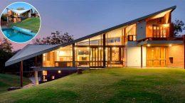 Загородный дом с параболической крышей от Studio 4000 | фото