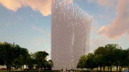 В Кремниевой долине построят башню «Бриз инноваций» | фото