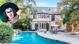 Джин Симмонс из группы Kiss продаёт дом в Беверли-Хиллз