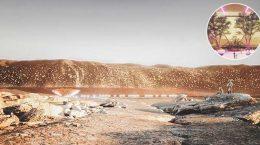 Создан марсианский город на 1 млн жителей. Проект ABIBOO studio