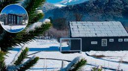 Минималистский дом в Андах от студии Demontaña | фото