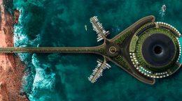 HAADS представила плавающий отель будущего | фото
