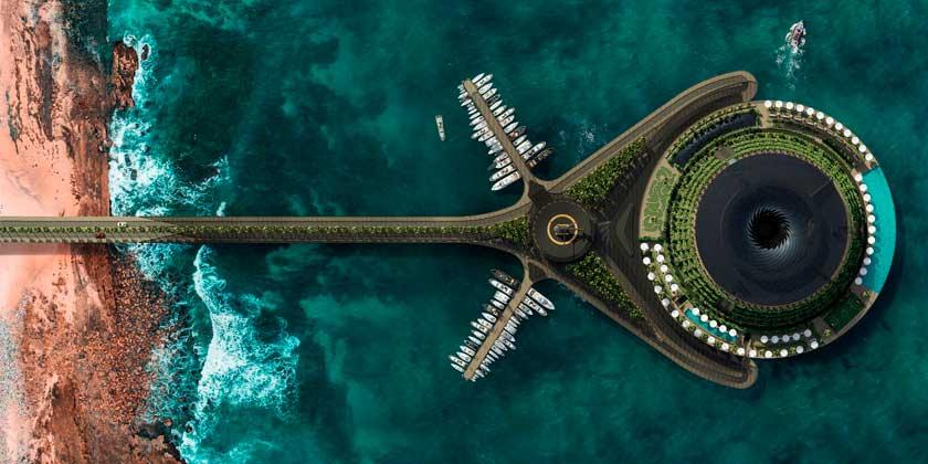 HAADS представила плавающий отель будущего