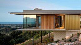 Дом с видом на долину в Австралии от DFJ Architects | фото