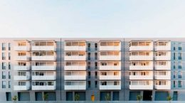 Жилой Комплекс под доступное жильё в Италии от Alvisi Kirimoto