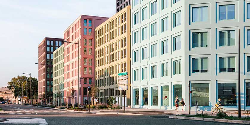 LAN Architecture построила ЖК Saint Urbain Block в Страсбурге 🏢