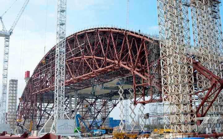 Новому «Укрытию» ЧАЭС не хватает еще 500 млн евро