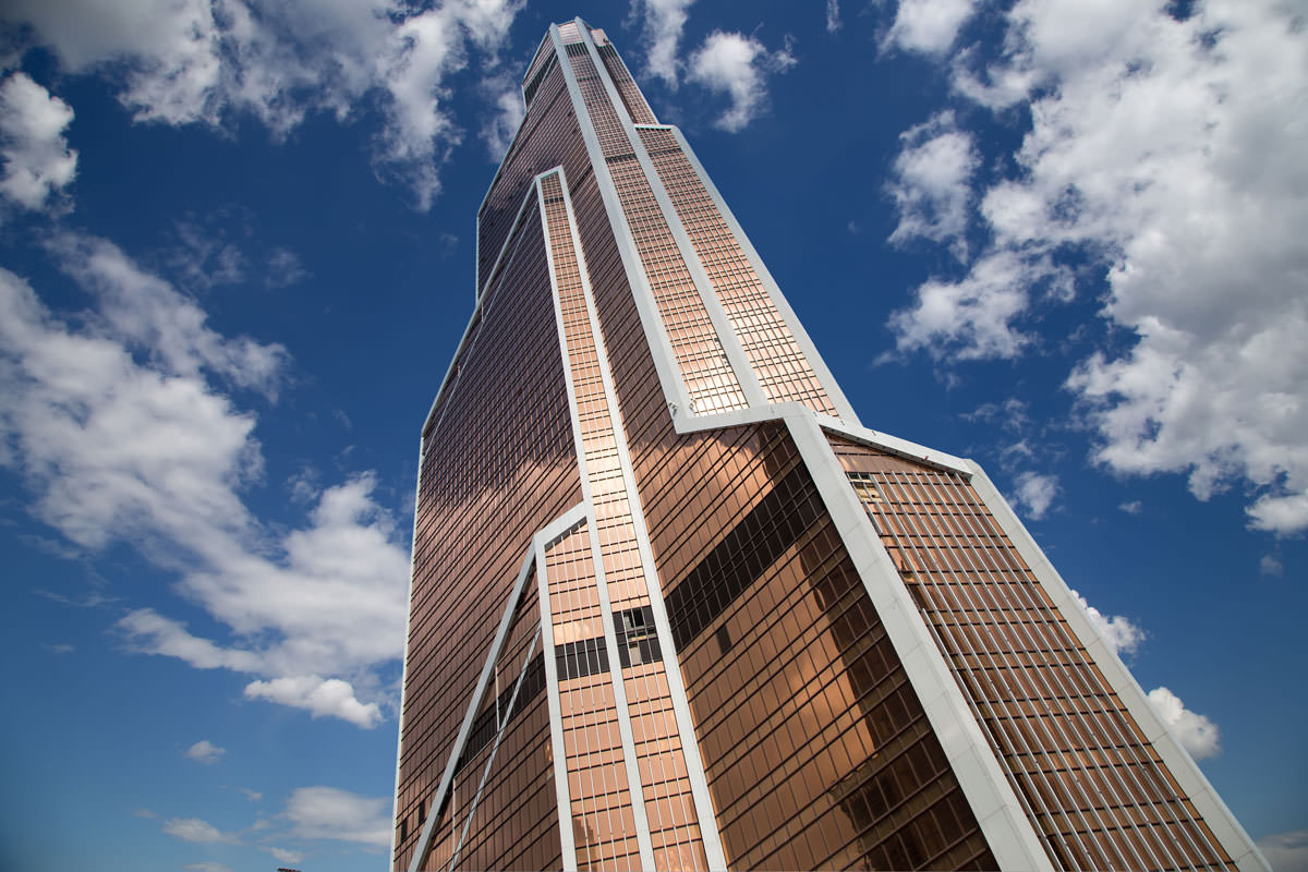 «Меркурий Сити Тауэр» остается самым высоким зданием Европы