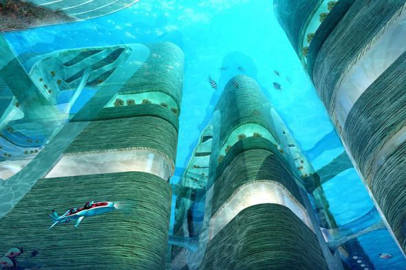 Плавающий мегаполис Floating City