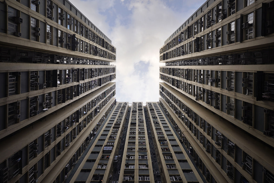Небоскребы Гонконга на фото от французского фотографа