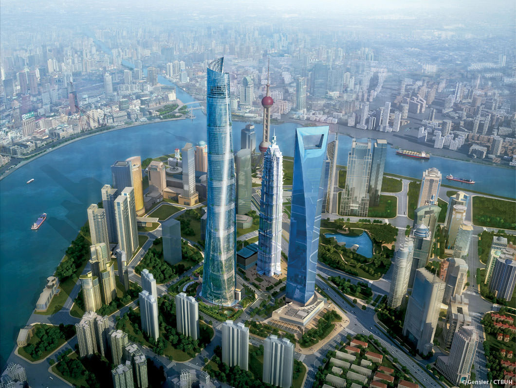 Shanghai Central Tower