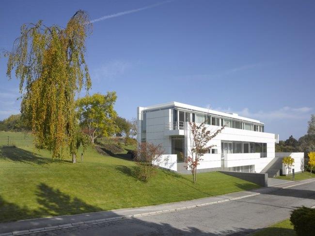 Вилла в Люксембурге по проекту Ричарда Майера