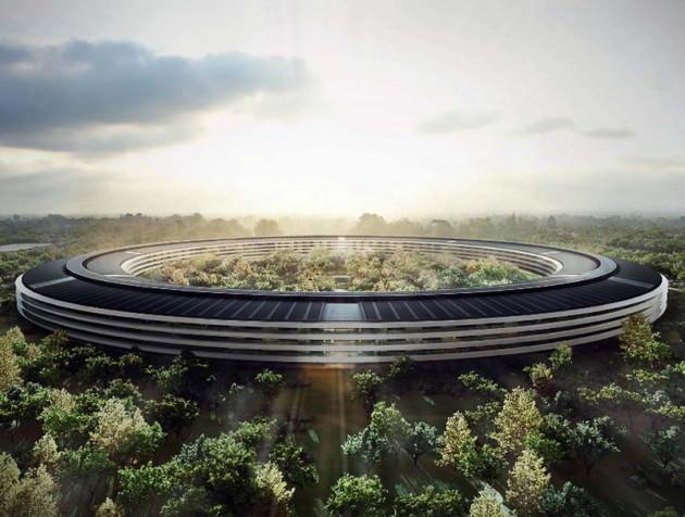 Строительство Apple Campus 2 продолжается