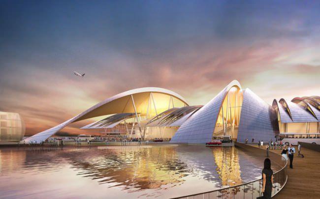 Проект аэропорта «Южный» от бюро Twelve Architects & masterplanners