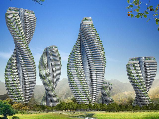 Экологические небоскребы от Винсента Каллебо