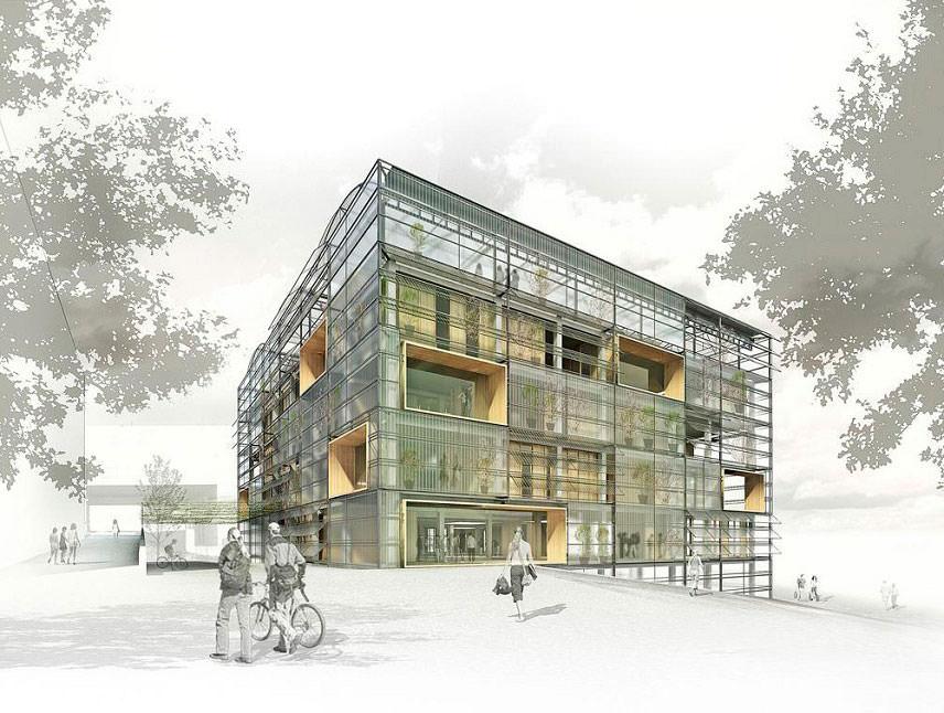 Супер-экологичное здание построено в Каталонии