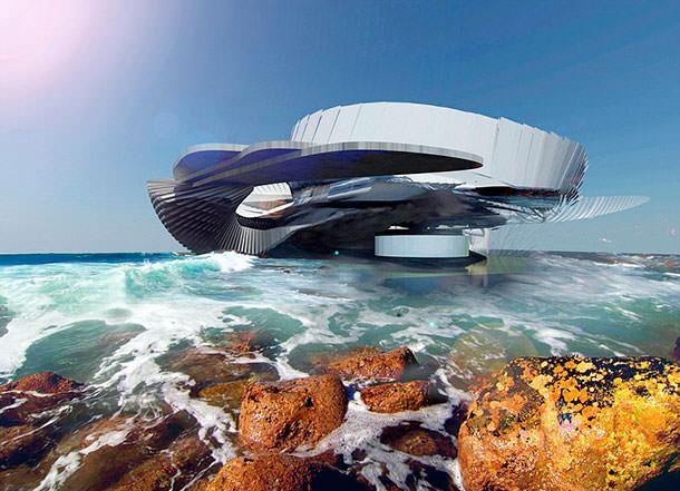 Гидроэнергетический дом от канадского архитектора