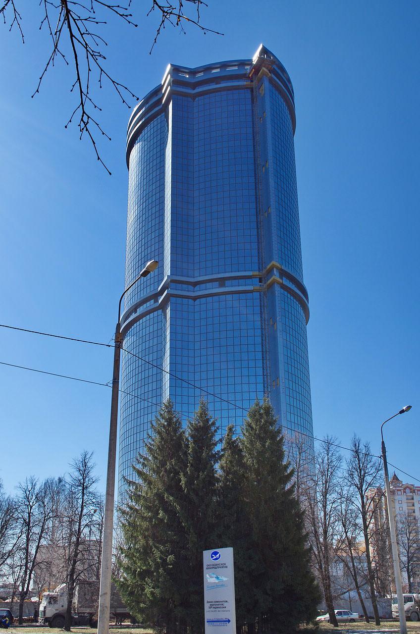Казанский небоскреб включили в топ высочайших зданий России