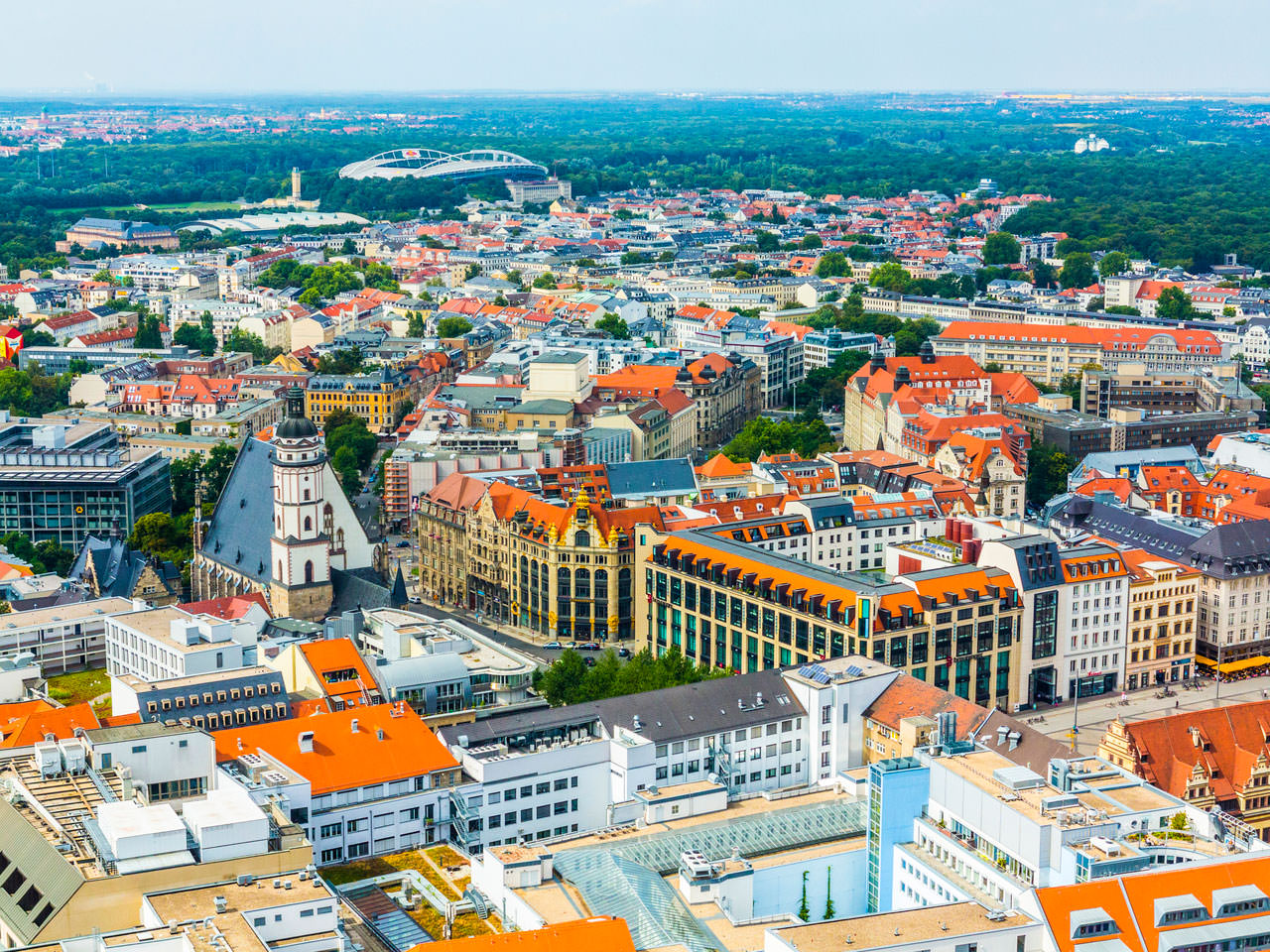 На рынке недвижимости Лейпцига разразился невероятный бум