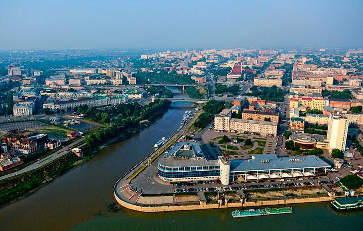 В центре Омска построят два небоскреба