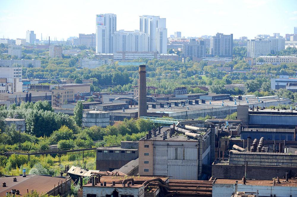 Столичные промзоны отведут под жилые кварталы и деловой центр