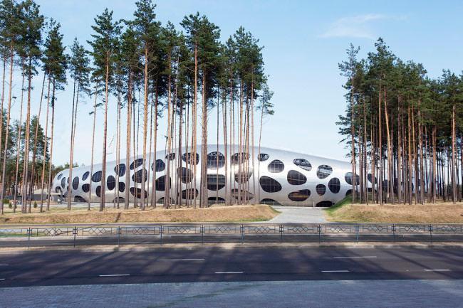 Стадион ФК БАТЭ в Борисове по проекту бюро Ofis