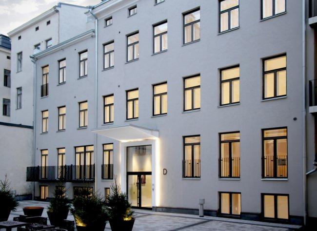 Исторический дом в центре Хельсинки реконструирован бюро Roomy