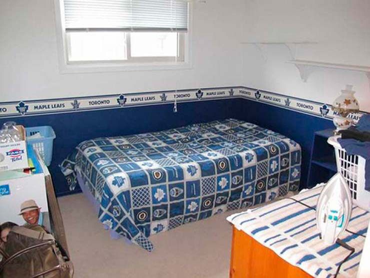 Спальня Джастина Бибера в его доме детства