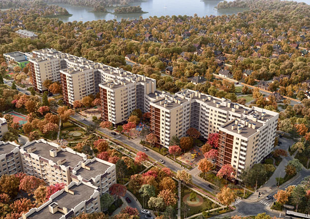 В ЖК «Дом у Разлива» Петербурга началась продажа квартир