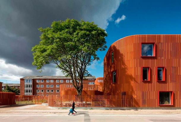 Бюро COBE построило детский сад в Копенгагене
