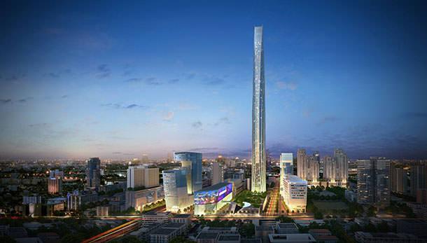 Башня Grand Rama IX Iconic Tower в Бангкоке