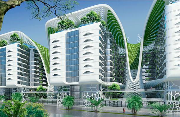 В Каире построят «зеленый квартал» The Gate Residence