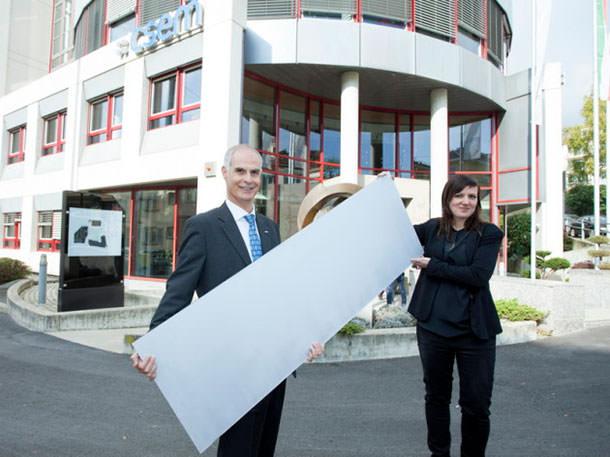 Представлены белые солнечные панели в Швейцарии
