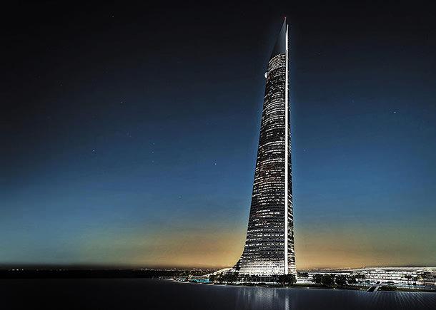 Самый высокий небоскреб Африки Al Noor Tower
