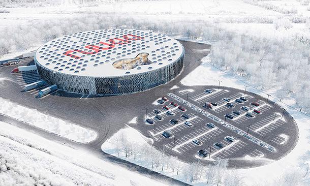 Логистический центр Санта Клауса в Финляндии. Проект бюро Rastvor Group