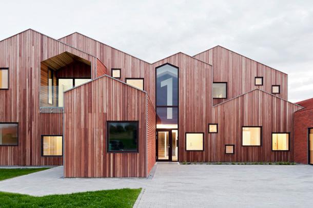 Бюро CEBRA построило в Дании «Детский дом будущего»