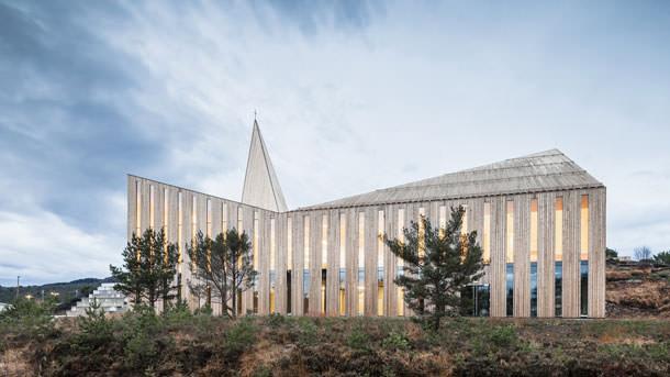 Церковь от Reiulf Ramstad Arkitekter