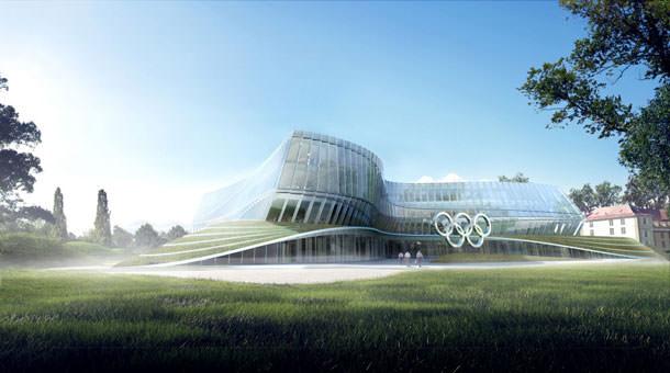 Штаб-квартира Международного Олимпийского комитета от 3XN