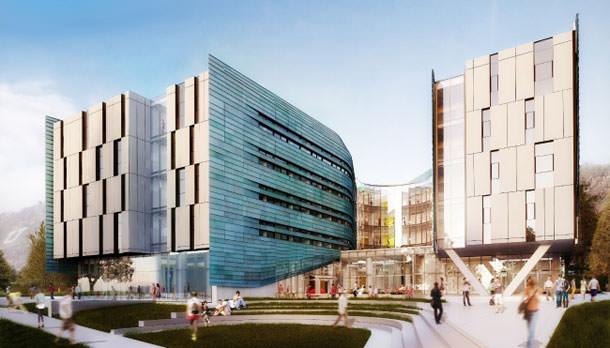 В Солт-Лейк-Сити строят новый корпус Института предпринимательства Лассонда