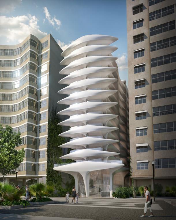 Заха Хадид спроектировала жилую высотку для Рио-де-Жанейро