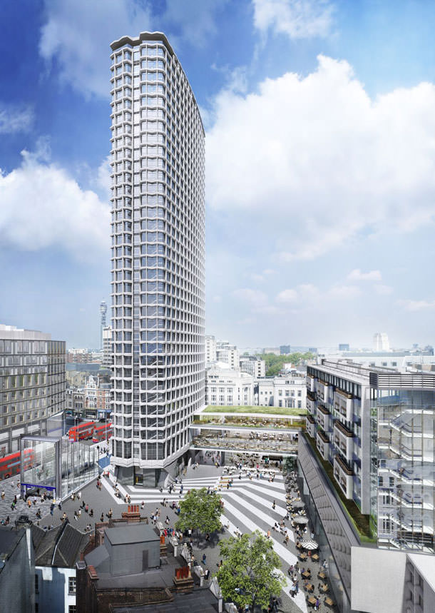 Небоскреб Centre Point в Лондоне переобустроят под квартиры