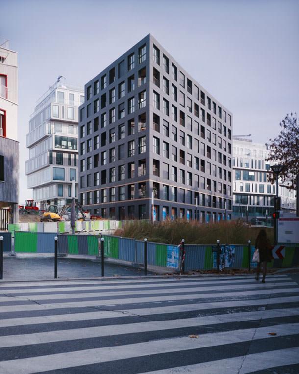 Новый жилой комплекс в Париже. Проект LAN Architecture | фото