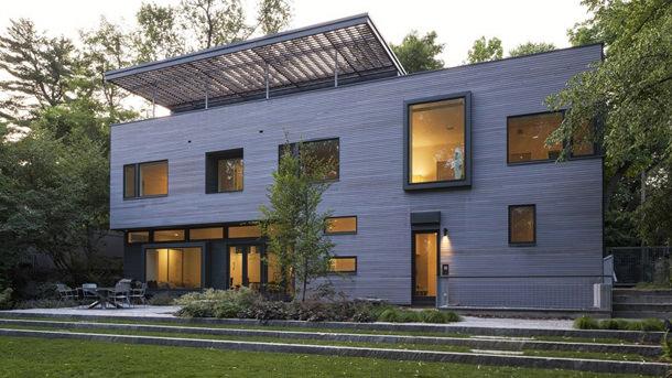 Семейный дом в стиле модерн от Ника Уинтона | фото, проект