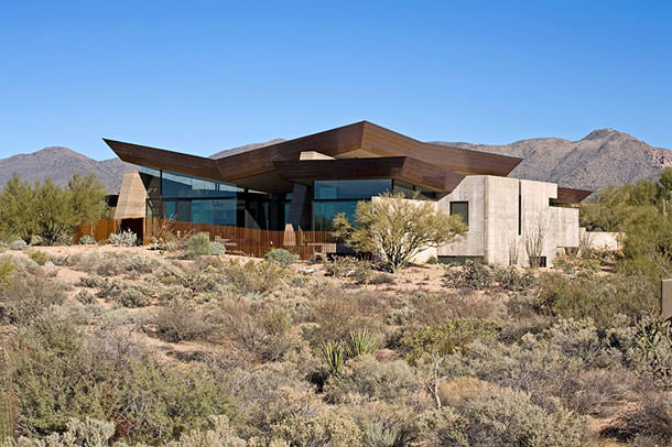 Дом в аризонской глуши от Kendle Design Collaborative