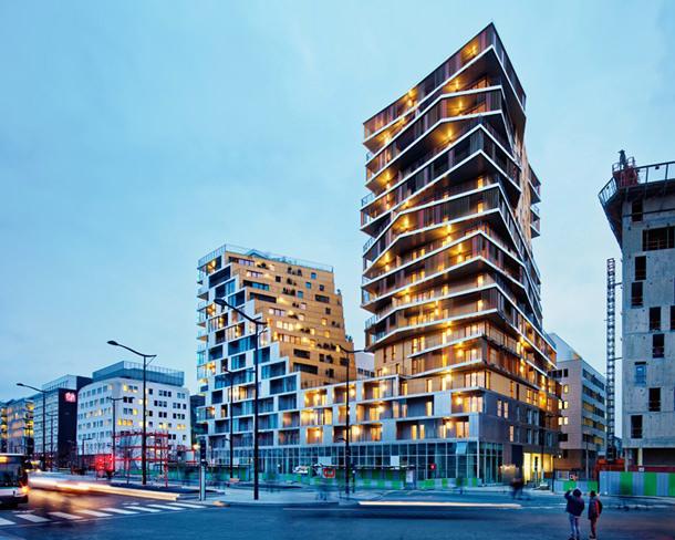 Hamonic + Masson и Comte Vollenweider построили жилой комплекс в Париже