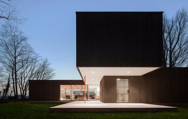 Сборный дом в Нидерландах от Studio Puisto | фото, проект