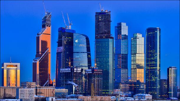 Москва вошла в ТОП-10 по ставкам аренды офисов в небоскребах