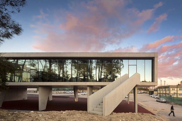В португальском городе Лейрия построен современный офисный комплекс
