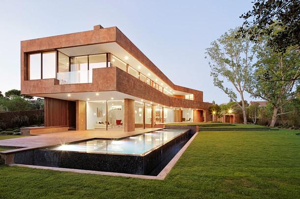 Роскошный дом в Мадриде от Otto Medem Arquitectura | фото