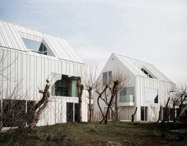 Дома дуплексы на побережье Северного моря | фото